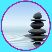 Mindfulness - A stack of rocks